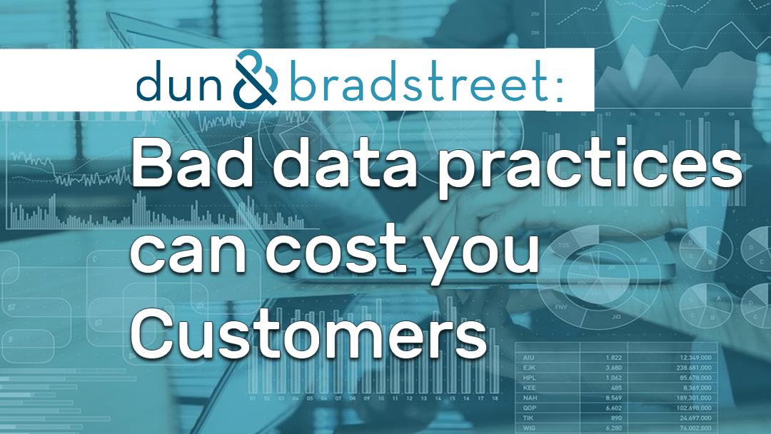 Dun & Bradstreet, ImageQuest, bad data hurts business